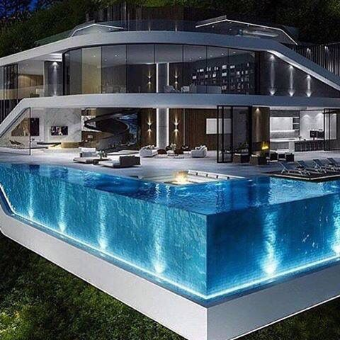 What A Pool Modern Mansion Modern House Design Mansions