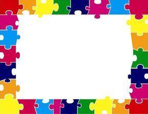 Bordes para decorar marcos pinterest poemas con - Puzzles decorativos ...
