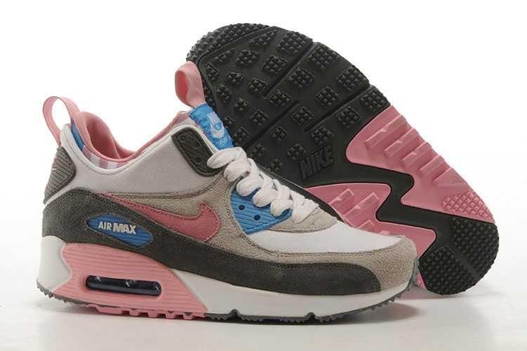 outlet store sale e1e2c a536c ... cheap 1830 nike air max 90 sneakerboot dam light rosa rosa grå vit  se942656upgypdbz fae95 32e69