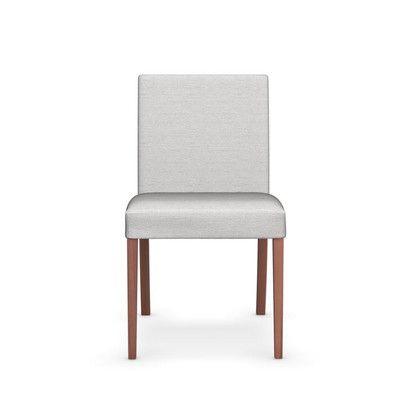 Latina Low Upholstered Wooden Chair | Wayfair