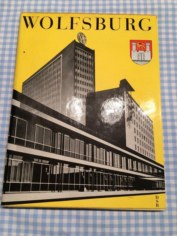 Vintage Volkswagen  Factory Book, Wolfsburg, Germany circa 1960 by DelboysDen on Etsy