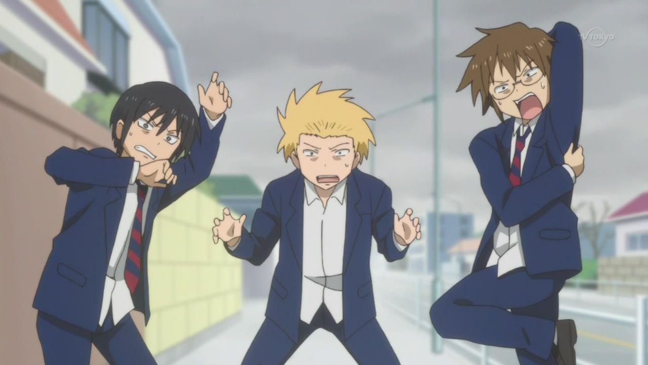 Daily Lives Of High School Boys Anime Yass Japan Nichijou