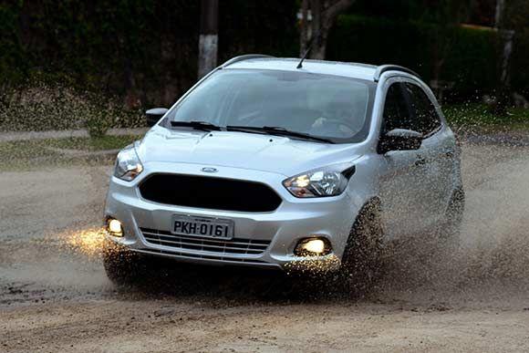 Confira A Ficha Tecnica O Ford Ka Trail  Consumo Potencia Velocidade