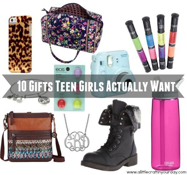 Christmas Gifts 2014 For Teen Girls Part - 33: 10 Gifts Teen Girls Actually Want - A Little Craft In Your DayA Little .. Christmas  GiftsTeen