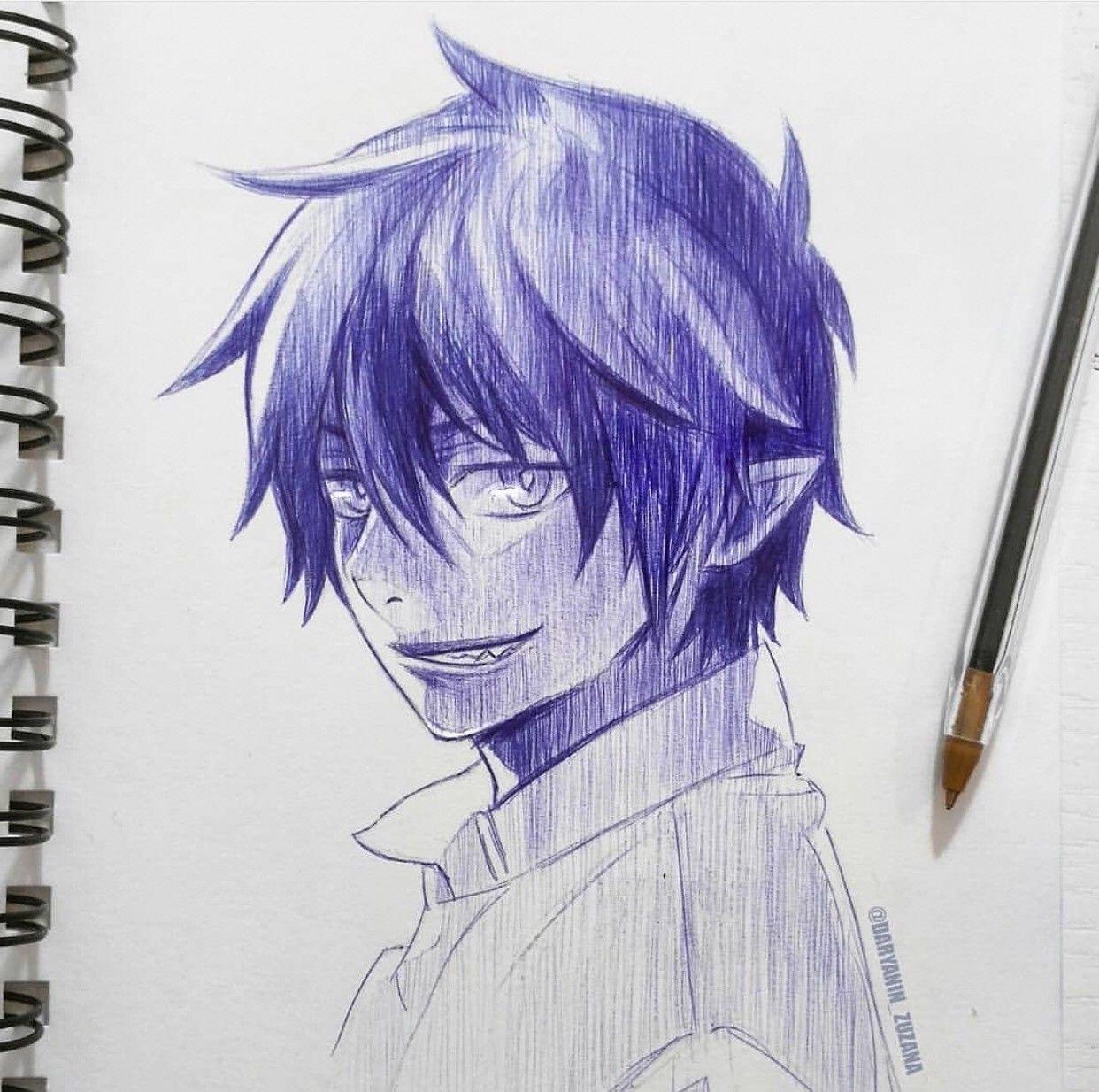Rinokumura By Daryanin Zuzana Are You An Anime Artist Visit Your Second Home Animeignite Com Aonoexorcist Like Anime Art Anime Art