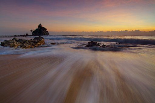 Movimento, Mar, Oceano, Praia
