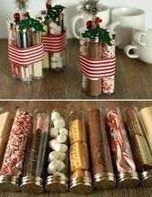 60 Christmas DIY Gifts for Friends Creative and Easy – #Christmas #Creative #DIY…