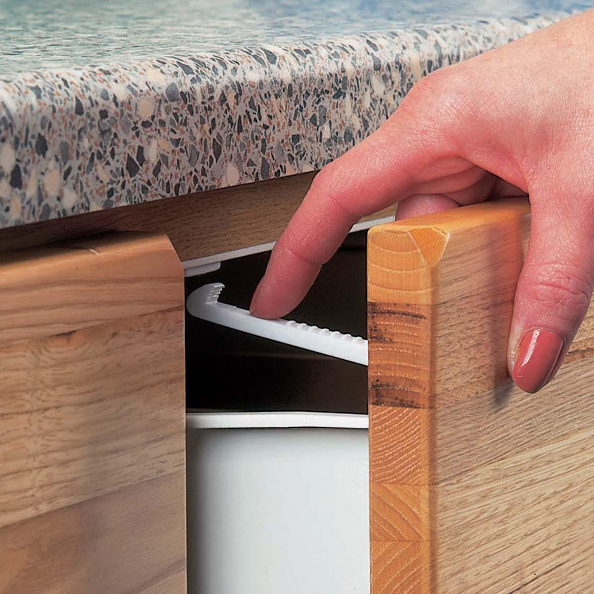 Clippasafe 6 x Cupboard Locks Home safety, Cupboard