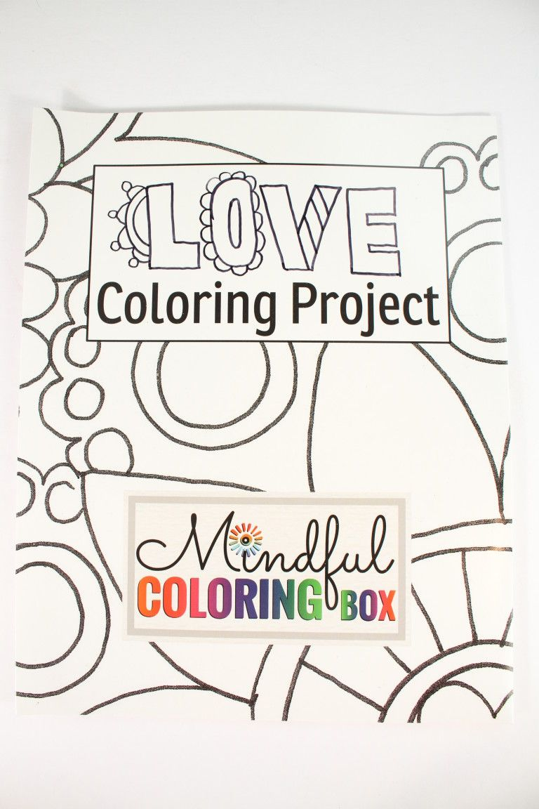 Folder to color   Current and Previous Boxes   Pinterest   Mindful ...