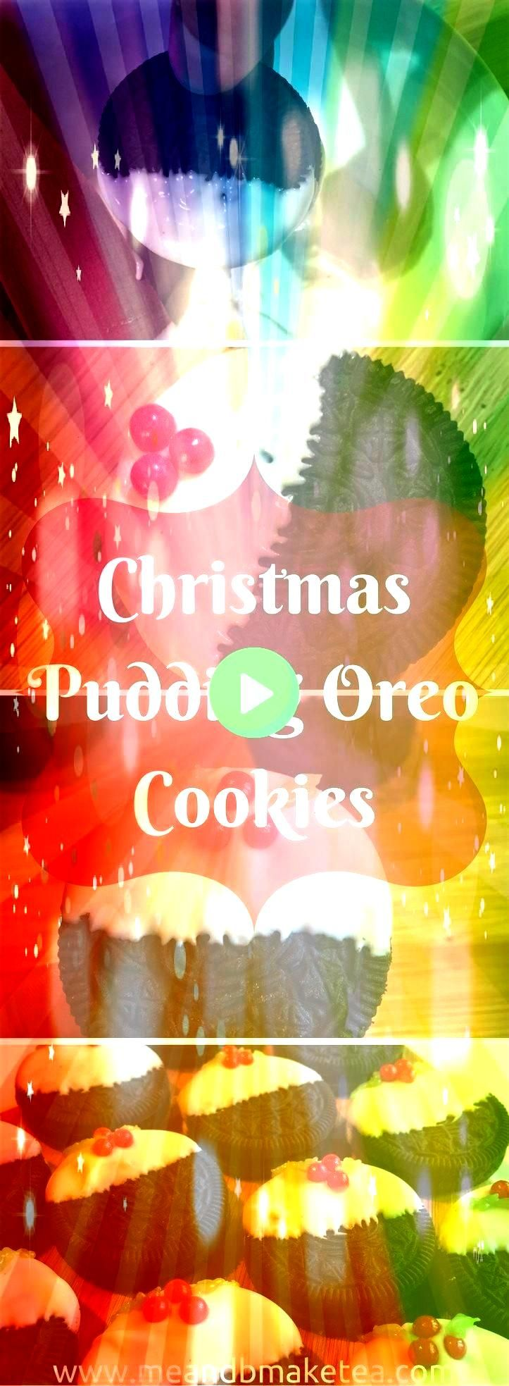 NoBake Christmas Pudding Oreo Cookies Check out these cute no bake oreo christmas pudding cookies they are super quick and easy to make the perfect festive recipe Take a...