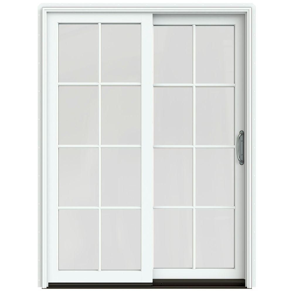 sliding patio doors clad wood