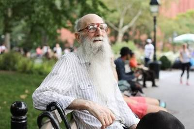"Humans of New York - ""if you have a beard, it takes longer for people to notice that you don't have any teeth"""