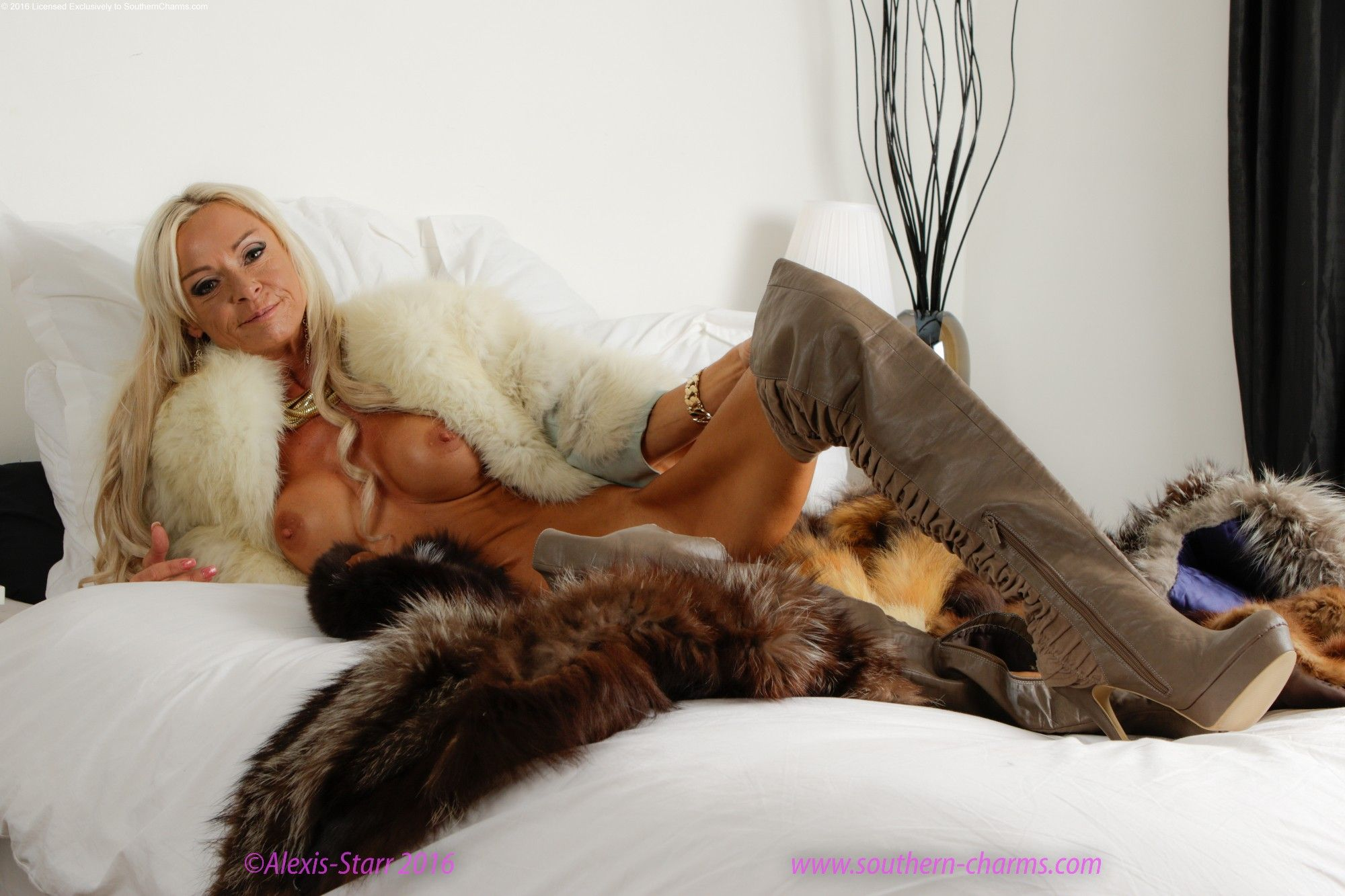 women in fur coats fucked of the southern charms