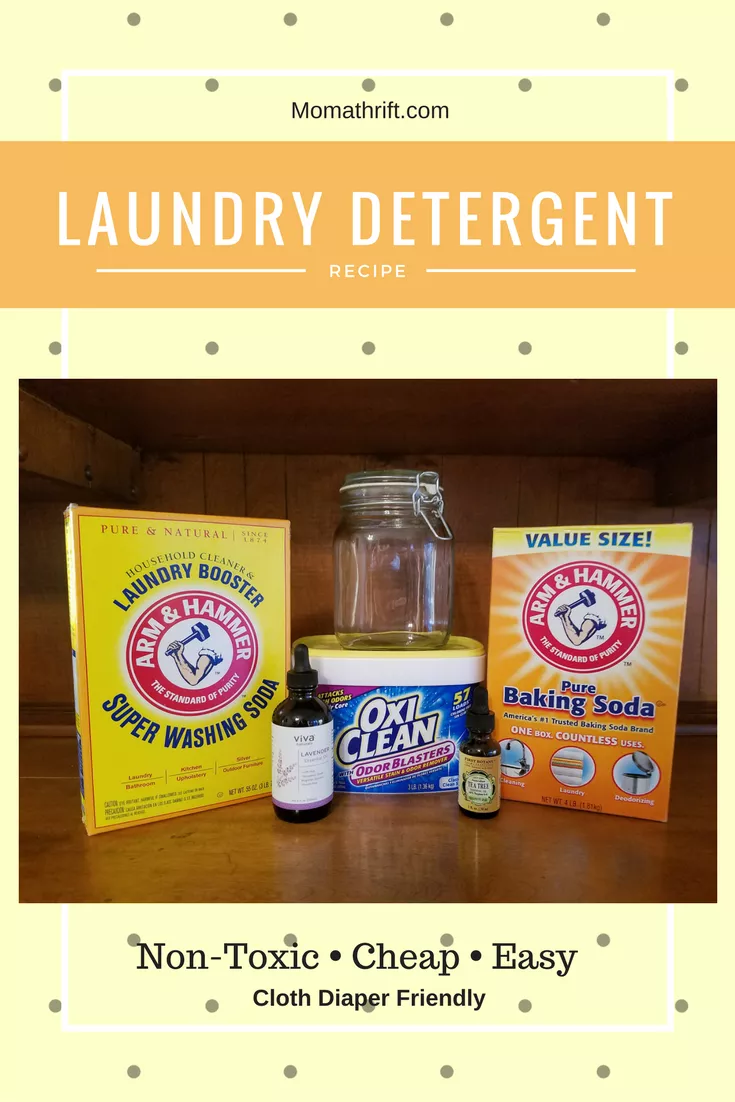 Cheap Easy Non Toxic Diy Laundry Detergent With Images Diy Laundry Detergent