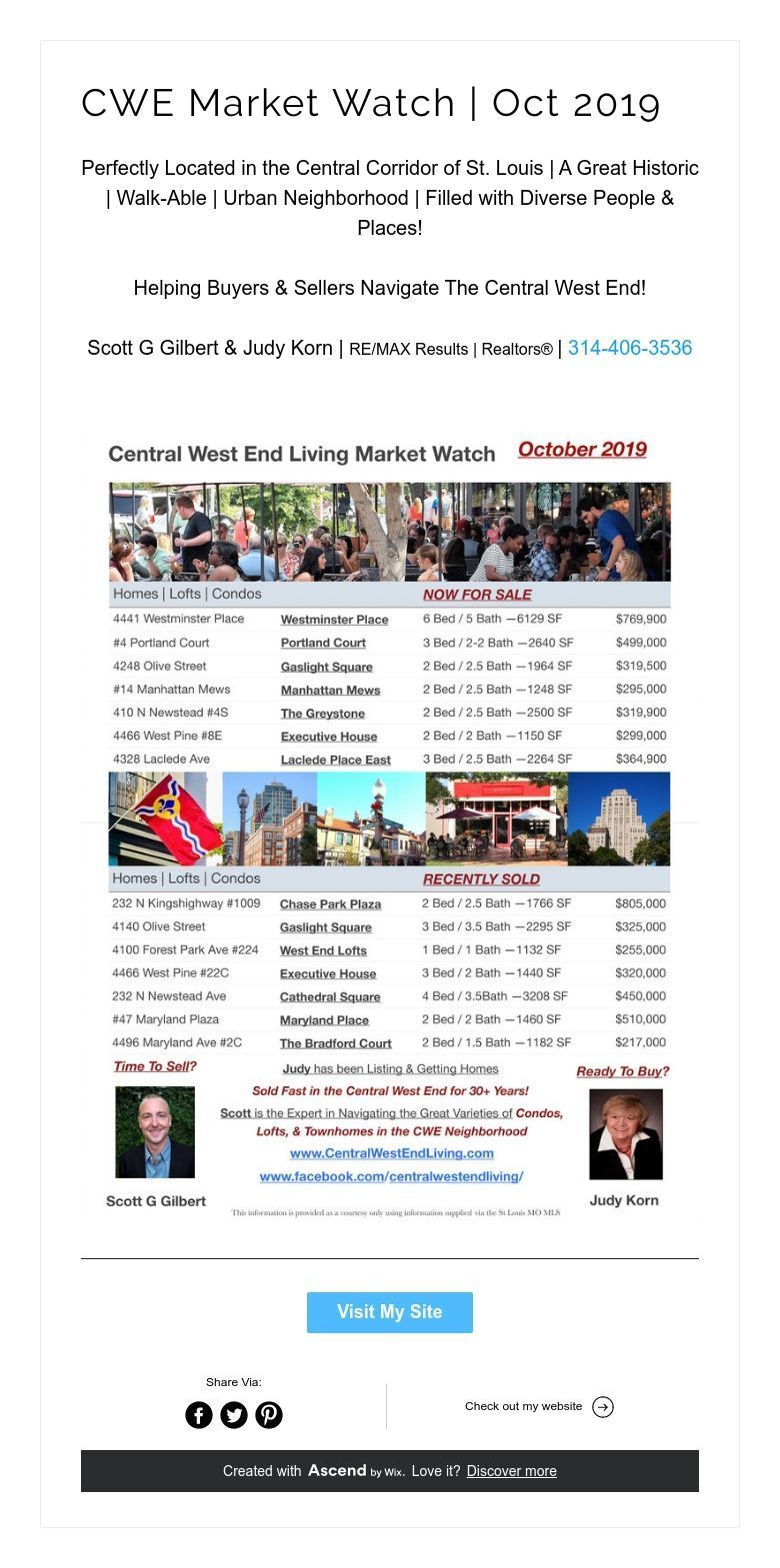 Cwe market watch oct 2019 central west end marketing