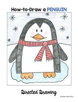Winter Directed Drawing : winter, directed, drawing, Winter, Animals, Directed, Drawing, Lesson,, Kids,, Kindergarten