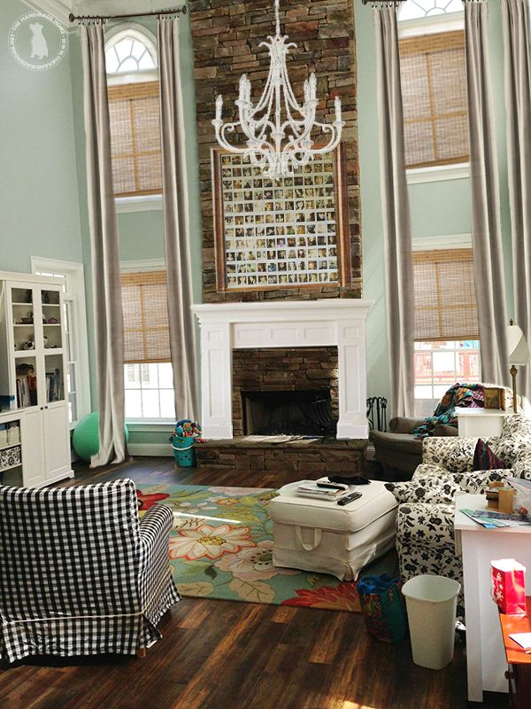 solutions for a two story living room | Dining room ...