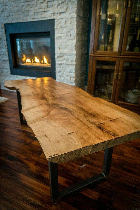 idea by chris stewart on wood tables wood slab table on stunning wooden metal coffee table id=86456