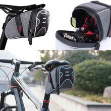 Bag Cycling Mountain Bicycle Bike Saddle Rear Light Tail Storage Large Night