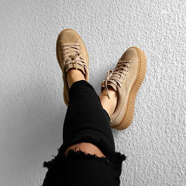 Puma by Rihanna Creeper 'Velvet'.   Skor, Stil och mode och