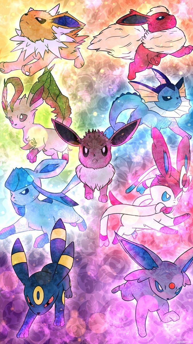 So Since It S My Cake Day Here S A Nice Wallpaper For All You Mobile Users Like Me Cute Pokemon Wallpaper Pokemon Pokemon Eevee