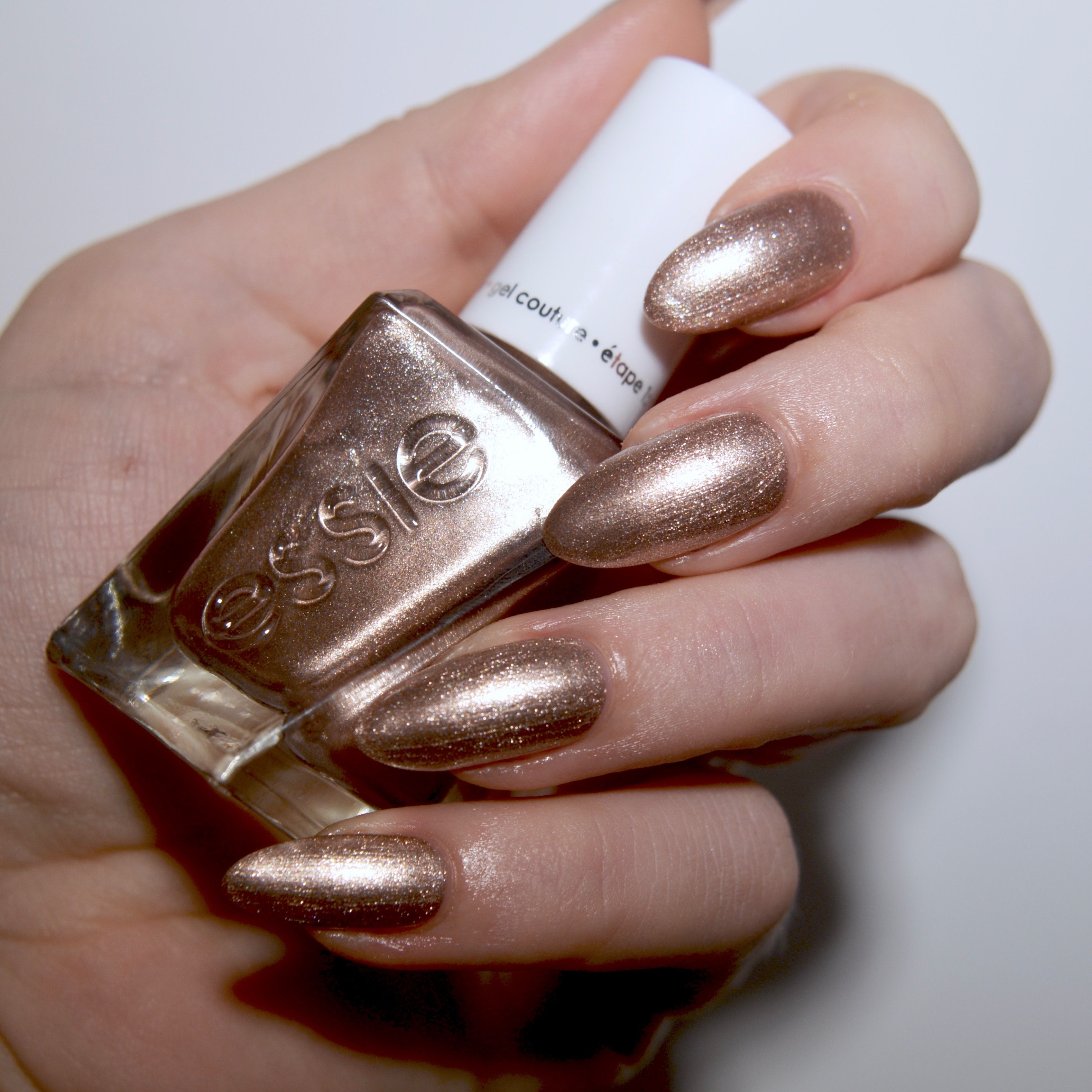 Essie Bridal 2017 Collection | Metallic nails, Manicure and Wedding ...