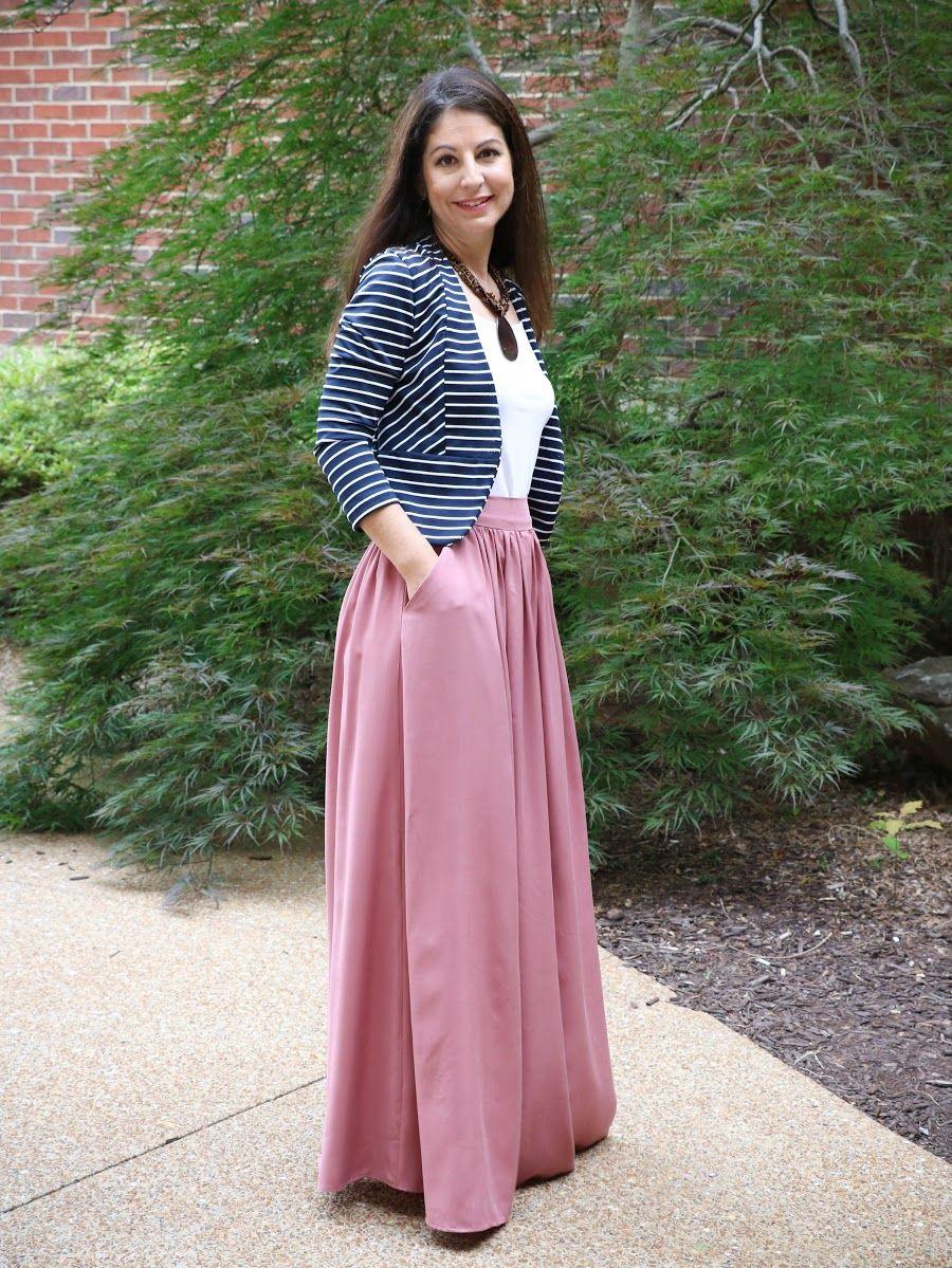 Rayon Maxi Skirt | Falda, Faldas largas y Maxi faldas