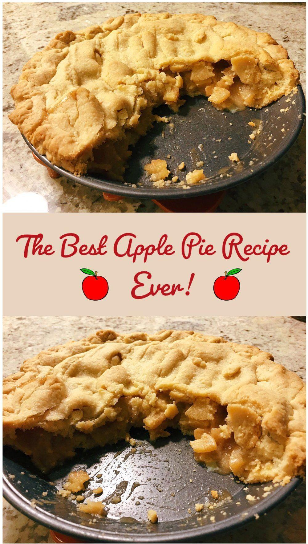 The Best Apple Pie Recipe — All That Glitters #applepie