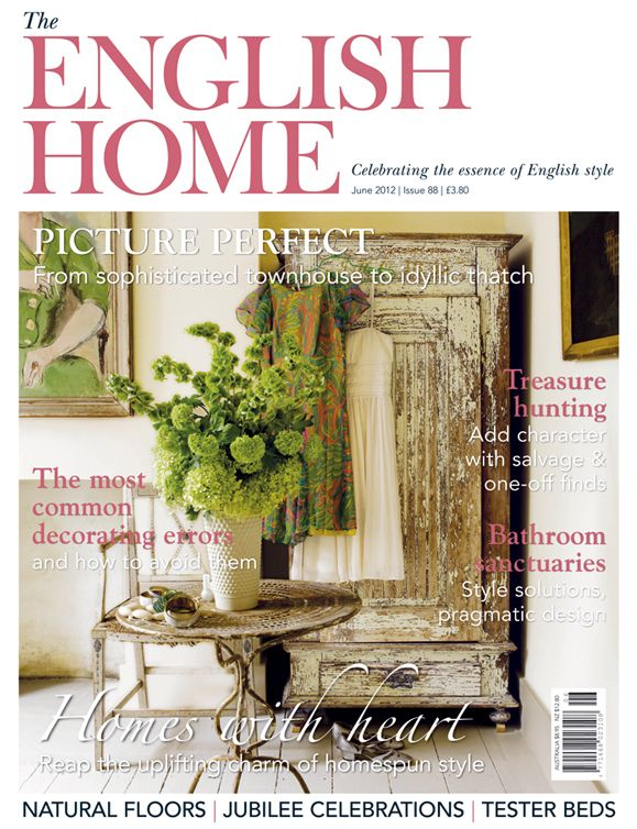 The English Home Magazine Subscription Great British Magazines House And Home Magazine English House Natural Flooring