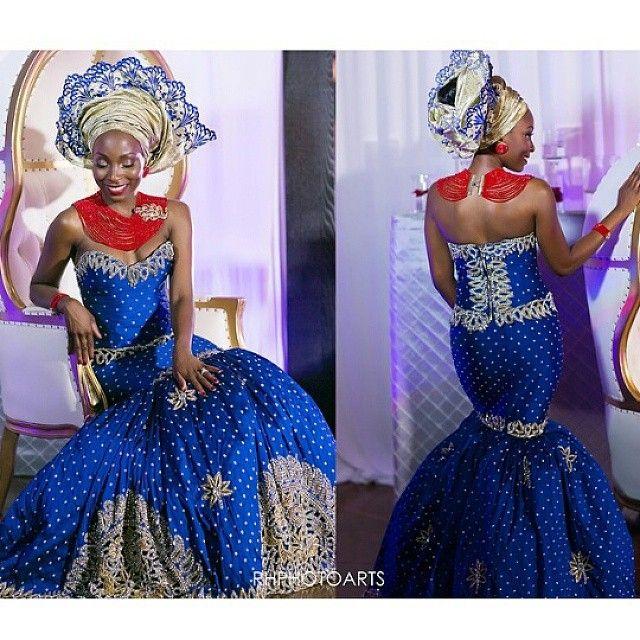Nigerian Igbo Traditional Wedding Attire | African Chic ...