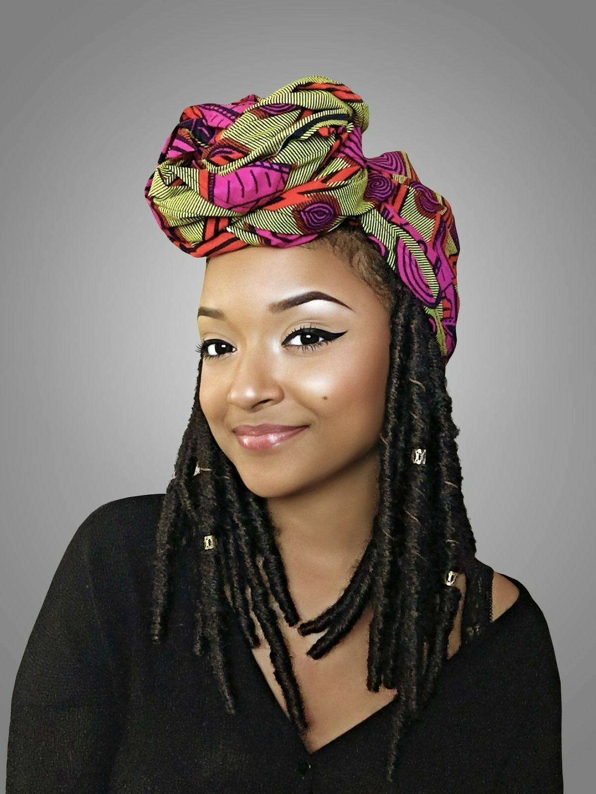 Pin by Caroline Frias on Hair   Head wrap styles, African ...