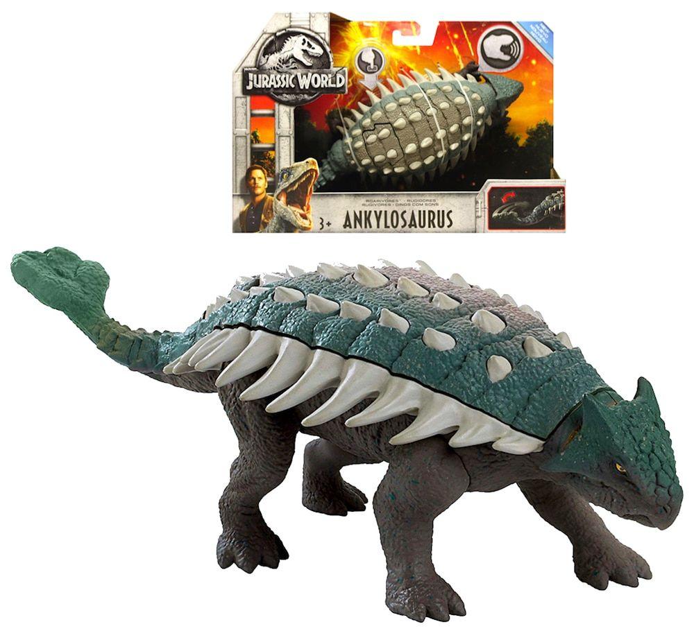 Jurassic World Fallen Kingdom Roarivores Ankylosaurus Dinosaur