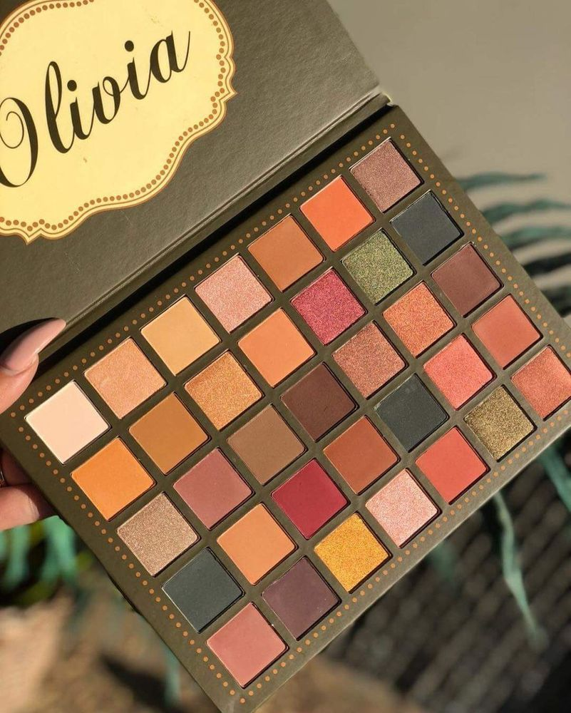Beauty Creations Olivia 35 Color Eye Shadow Palette 100 Authentic
