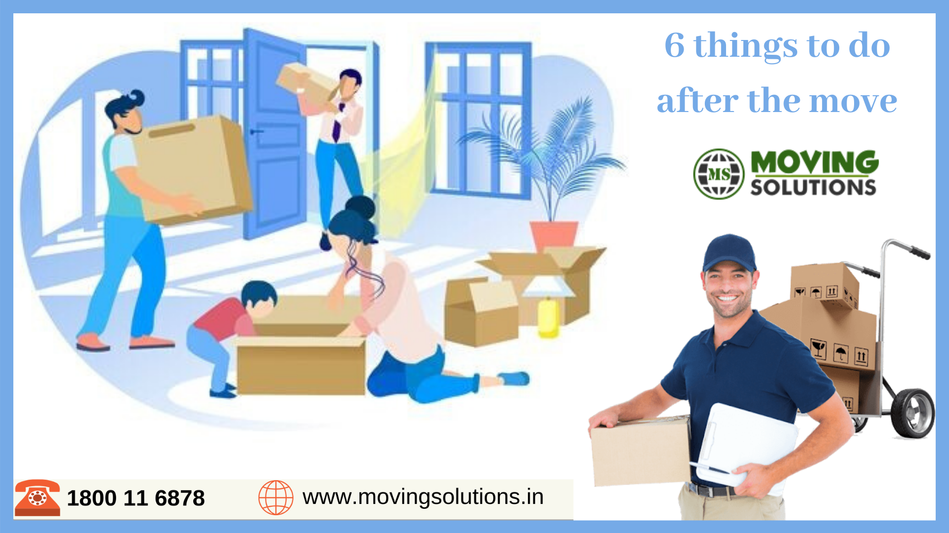 6 Things To Do After The Move Packers And Movers The New Doctor Things To Do