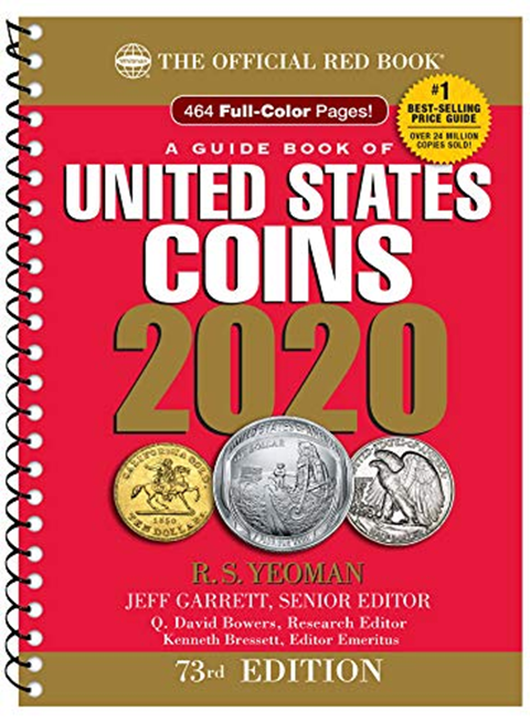 A Handbook of United States Coins Blue Book 2019 Paperback