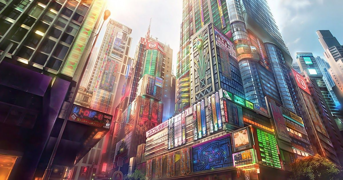Pin By Amira Safira On Aethetic Stuff In 2020 Anime City City Art Cyberpunk City