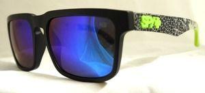 d9688fcedd New Spy Helm Sunglasses Spy+ Ken Block Livery Grey W  Green Spectra ...