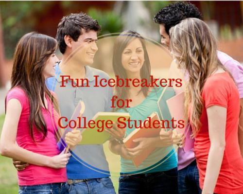 Fun Icebreaker For College Students -