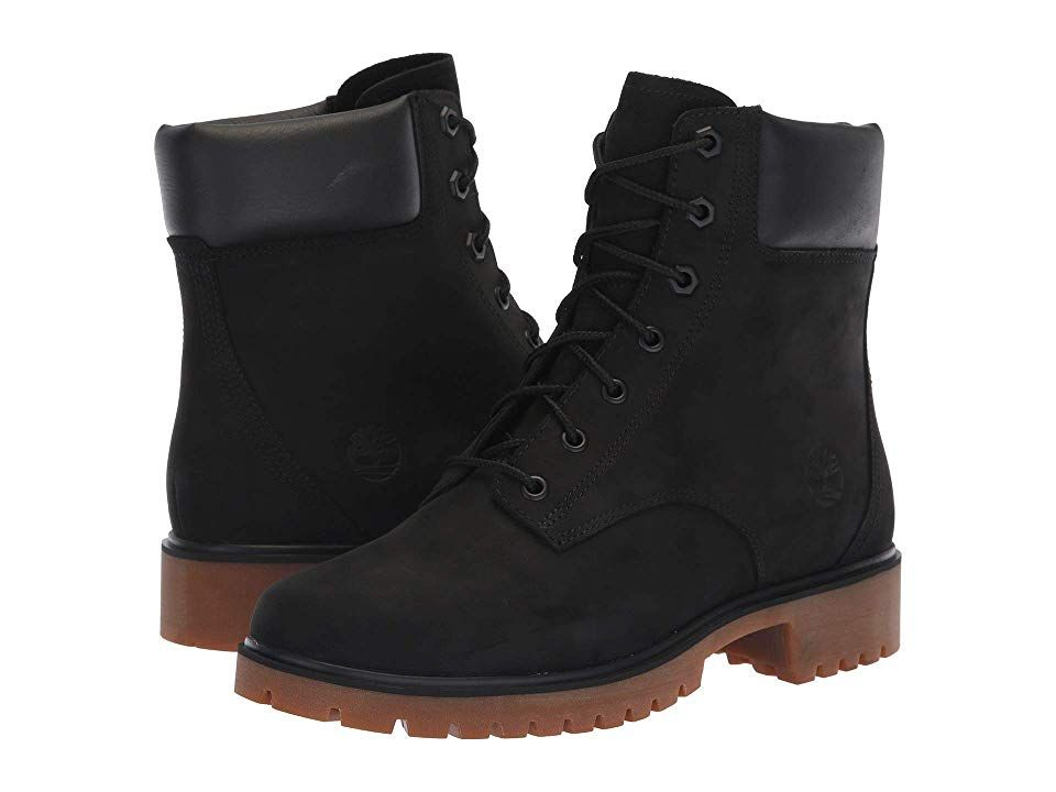 Timberland Jayne 6 Waterproof Boot Black Nubuck Women S