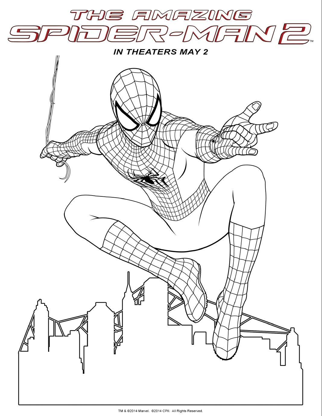 Spiderman Coloring Pages To Print Coloring Pages Spiderman Coloring Spider Coloring Page Superhero Coloring Pages