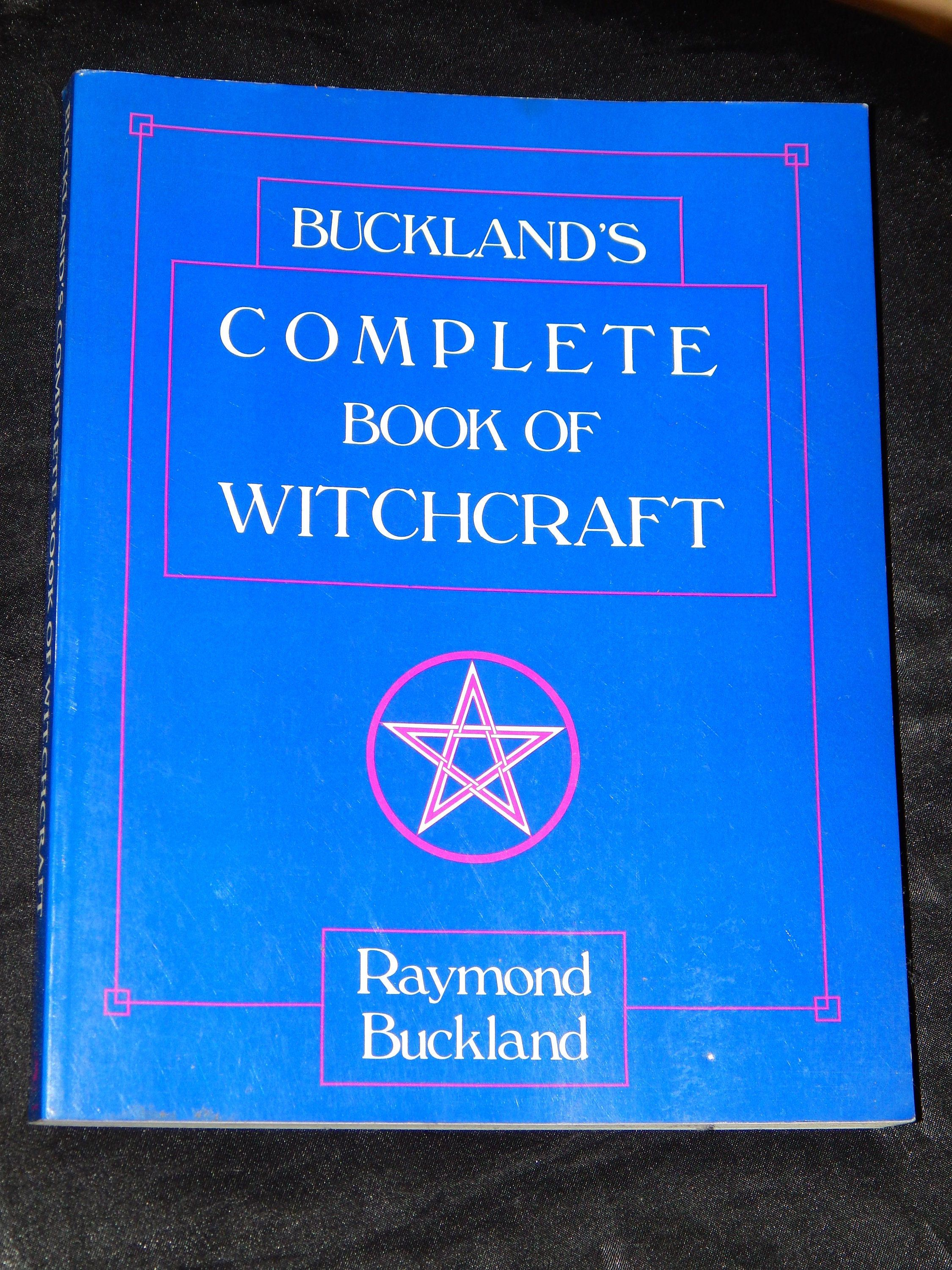 Bucklands complete book of witchcraft used books