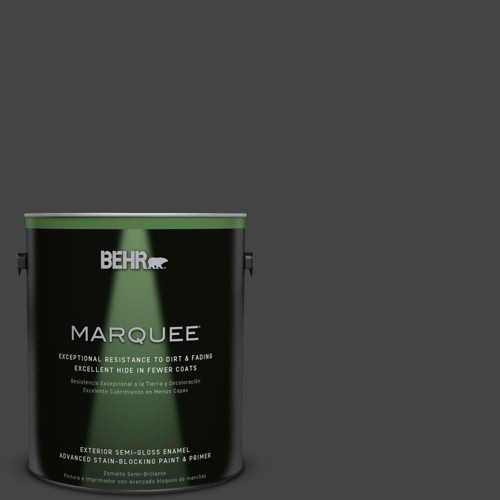 BEHR MARQUEE 1-gal. #PPU18-20 Broadway Semi-Gloss Enamel Exterior Paint