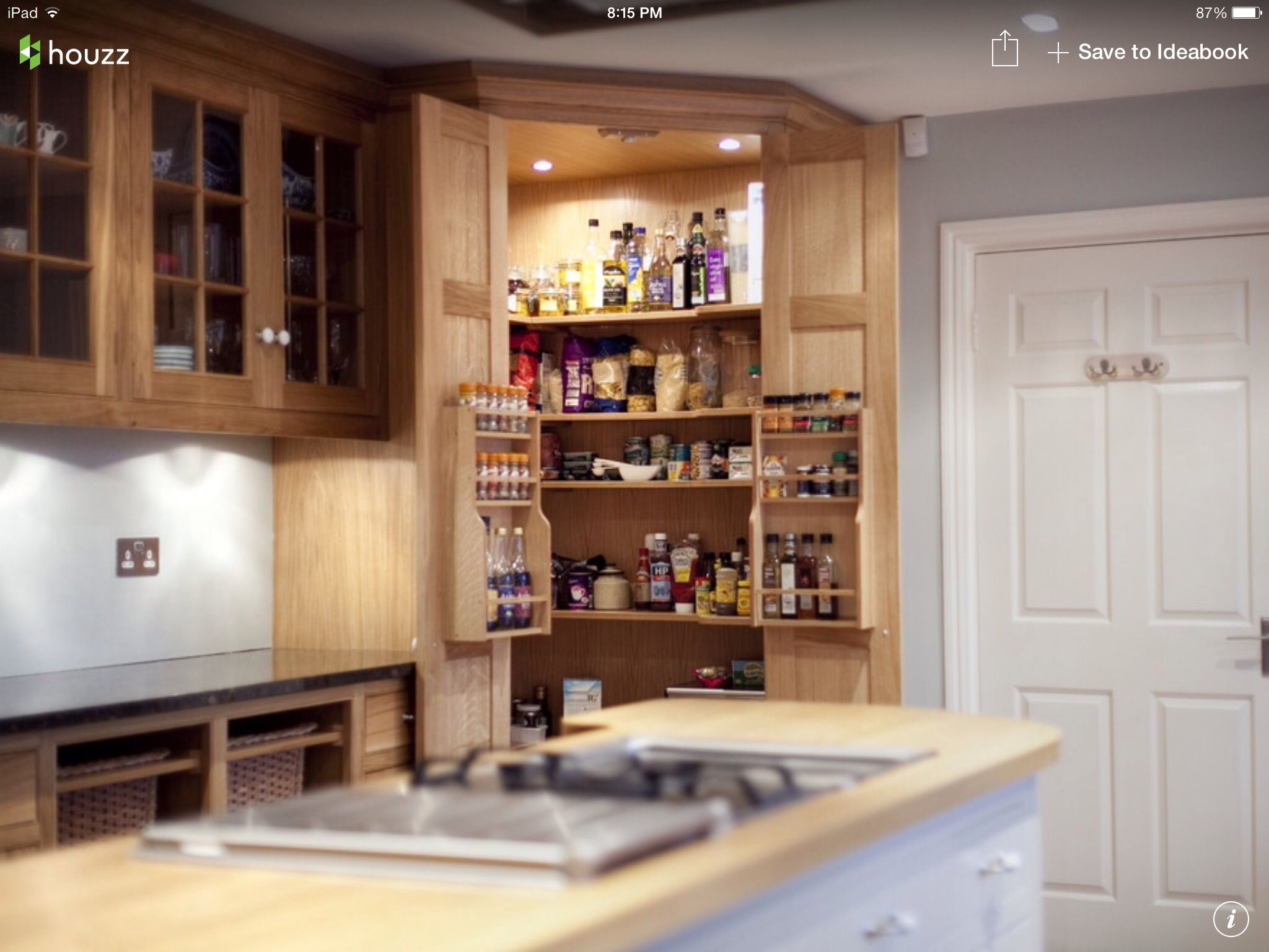 Corner pantry organization   Pantry   Pinterest   Corner pantry ...
