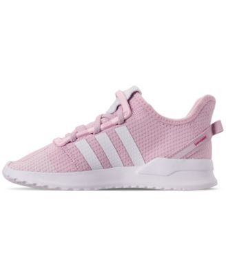 89f437b871f51 adidas Little Girls' U_Path Run Athletic Sneakers from Finish Line - Pink  2.5