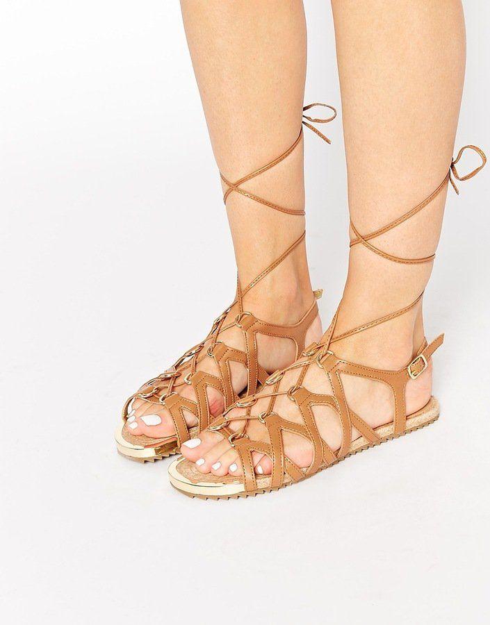 ALDO Gladiator Flat Sandals