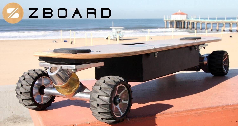 ZBoard The Electric Skateboard Motorized skateboard