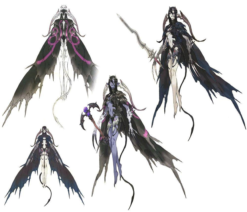 Succubus from Final Fantasy XIV: A Realm Reborn   Creature