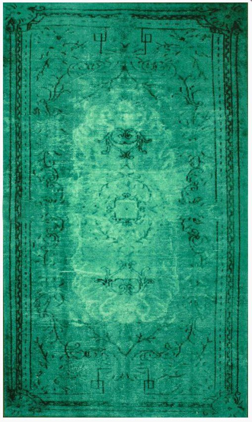 Over dyed Persia rugs