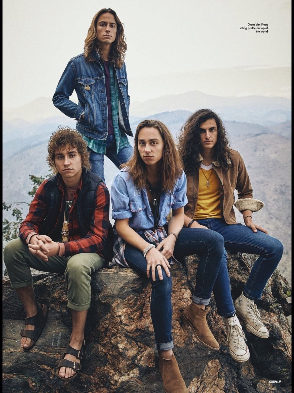 Pin By Harmony Knopp On Greta Van Fleet Fleet Greta Beautiful Men