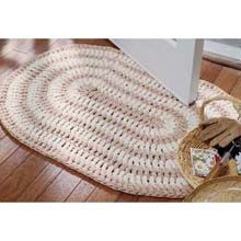 Free Crochet Pattern For Oval Rug